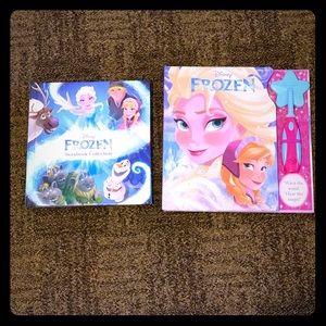 Frozen books 📚